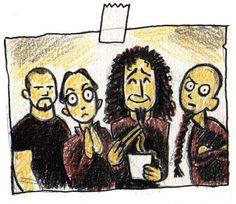 System of a Down, um a das minhas bandas favoritas... Amo o Daron <3