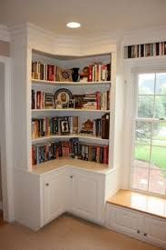 Image result for cupboard with bookshelves