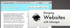 Tutorial on designing and exporting web designs using inkscape