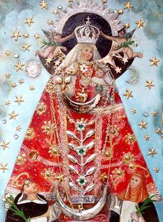 Virgen del Rosario del Nicrupampa, Perú