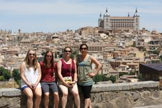 Toledo nicest view. Andalucia