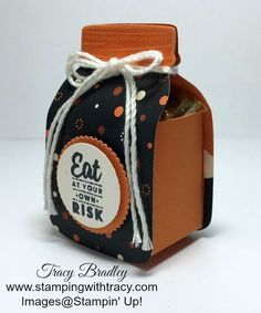 Everyday Jars Treat Holder | Stamping With Tracy
