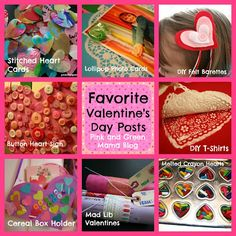 Favorite Valentine's Day Crafts and Activities For Kids