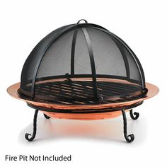 Spark Screen For Large Copper Fire Pit #LearnShopEnjoy