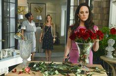 Kara and Victoria Victoria Grayson, Grayson Manor, Movie Decor, Bridesmaid Dresses, Wedding Dresses, Revenge, Kara, Photos, Formal Dresses