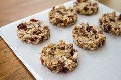 Gluten-Free Banana, Coconut and Dried Cherry Breakfast Cookies | Tasteseekers Kitchen