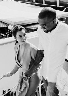 Kanye and Kim!
