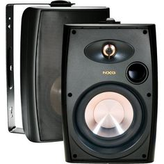 """NXG Technology NX-AW4B 4"""" 75-Watt 2-Way Outdoor Weather Resistant Speakers (pair) - Black by NXG Technology. $71.39. Just because you step outside there's no need to leave the party behind! These outdoor speakers provide incredible sound and value in an inconspicuous form factor and are capable of delivering powerfully clean and accurate sound at your next cookout or party. NXG's Weather Resistant Speakers will deliver living room quality sound to your pool, yar..."""