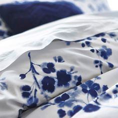 Bela Casa Home Pretty dyed floral design duvet cover.