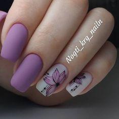 Mauve Nails, Purple Nails, Solid Color Nails, Nail Colors, Fabulous Nails, Perfect Nails, Nail Manicure, Gel Nails, Nail Art Stripes