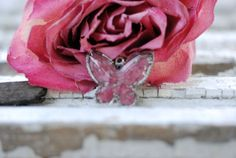 Butterfly Pendant filled with dried by CherishedMemoryJewel, $29.99