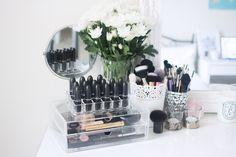 MUJI Beauty Aufbewarung - 2 Schubladen http://www.magi-mania.de/produkt/muji-acryl-beauty-aufbewahrung-mit-klappdeckel-2-schubladen-l/