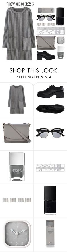 """""""It's the fifty shades"""" by shotstyle ❤ liked on Polyvore featuring I Don't Care, Sole Society, Retrò, Nails Inc., Maison Margiela, NARS Cosmetics, Karlsson, Christian Dior and modern"""