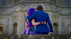 Mal and Ben side hug Descendants Mal And Ben, Descendants Wicked World, Disney Channel Descendants, Disney Descendants 3, Disney Channel Stars, Cameron Boyce, Best Disney Movies, Good Movies, Dove Cameron Style