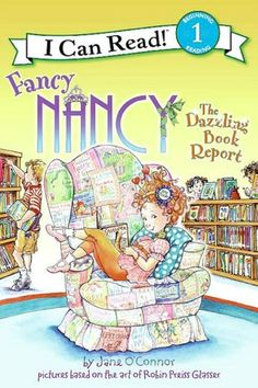 Donation - Nancy is determined to make the cover of her very first book report as fancy as she can, but she spends so much time on it that she has no time to write about the book.