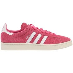 Adidas Originals Men Campus Hairy Suede Sneakers ($135) ❤ liked on Polyvore featuring men's fashion, men's shoes, men's sneakers, red, mens sneakers, mens pink sneakers, mens pink shoes, mens suede shoes and 80s mens shoes