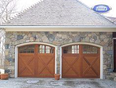 Heritage Classic Model EX08C Wood Garage Door