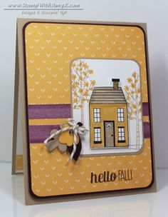 Holiday Home - Stamp With Amy K #holidayhome #2014HolidayCatalog