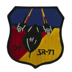 Air Force Other Shape Large Patch - SR 71