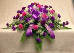 Beautiful Casket Sprays | Carnations (any color) $180.00 Casket Flowers, Funeral Flowers, Funeral Floral Arrangements, Flower Arrangements, Funeral Sprays, Casket Sprays, Sympathy Flowers, Carnations, Floral Wreath