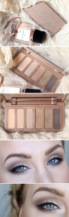 urban decay naked 2 basic eyeshadow palette tutorial hiilen makeup sminkningfff