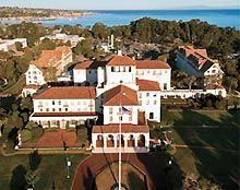 My Dad's last Navy duty station & the summers of my teenage years were spent here.  The Naval Postgraduate School in Monterey, California,