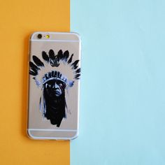 INDIAN MAYAN CHIEF  PHONE CASE