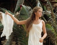"Brooke Shields in ""The Blue Lagoon,"" 1980."