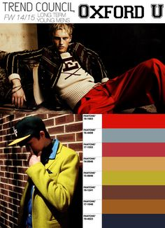 Young Men's Fall/Winter 2014-2015 Trend Council