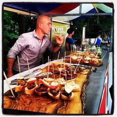 De Pure Markt het buitengebeuren voor het hele gezin met ambachtelijk en lekker eten, maar ook met creativiteit en duurzaamheid.