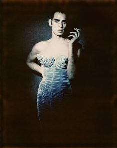 """Jean Paul Gaultier's """"Barbès"""" women's ready-to-wear fall-winter collection of 1984–85. © Paolo Roversi"""
