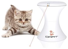 Dart laser pointer for cats