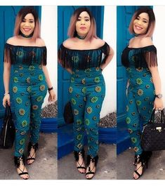 Rock the Latest Ankara Jumpsuit Styles these ankara jumpsuit styles and designs are the classiest in the fashion world today. try these Latest Ankara Jumpsuit Styles 2018 African Dresses For Women, African Print Dresses, African Print Fashion, African Attire, African Fashion Dresses, African Wear, Unique Ankara Styles, Kente Styles, Ankara Gown Styles