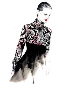 fashion illustrator - Pesquisa do Google