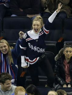 Gigi and Bella Hadid are both at the top of the fashion game. The model  siblings sported matching hockey jerseys to attend a New York Rangers game  at ... 29d484de8