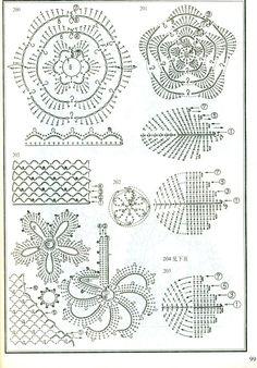 puntos y motivos crochet - Poii Abalorios - Picasa Web Albums