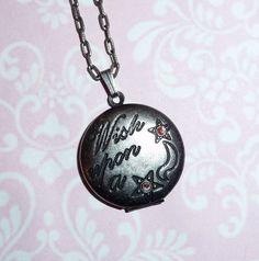 Locket Necklace 'WISH UPON A STAR' Vintage Inspired by BijouxAttic, £12.00