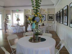 Art Gallery Reception, Interior shot of Aldridge House #aldridgegardens