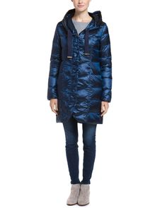 T Tahari Sapphire Packable Hooded Down Coat is on Rue. Shop it now.