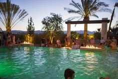 Drew and Jonathan Scott (Property Brothers) turned the backyard of their Las Vegas home into an over-the-top outdoor playground. Outdoor Playground, Outdoor Pool, Outdoor Patios, Property Brothers At Home, Indoor Waterfall, Pool Ideas, Backyard Ideas, Outdoor Ideas, Pool Backyard