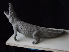 Nile Crocodile sculpt-alternate view by revenant-99 on deviantART