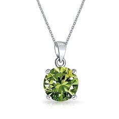 Bling Jewelry Simulated Peridot CZ Set 7mm Sterling Silver Stud Set >>> Check out the image by visiting the link. (This is an affiliate link) #JewelryForSale