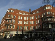 G.J. Rutgers, Roelof Hartplein en omliggende straten, Amsterdam 1922-1923 Amsterdamse School