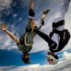 """Shan & Mason - so tight  #lvn #lvnlifestyle #lvnrevolution #jump #adventure #travel #skydive #skydiver #skydivers #skydiving #Australia #tight"""