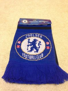 a9bd5a7f4a9 Chelsea Football Club Scarf Chelsea Football