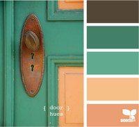 Palette Door Hues by Design Seeds Palettes Color, Colour Pallette, Color Palate, Colour Schemes, Color Patterns, Color Combos, Pantone, Design Seeds, Monochrom