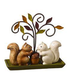 Squirrel Salt & Pepper Shaker Set by Grasslands Road #zulily #zulilyfinds