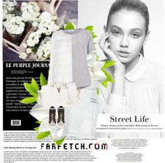 """136.Inspiration: Total look with FARFECTH.com"" by marymary91 ❤ liked on Polyvore"