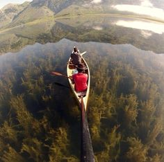 Canoeing in the Lago Matese Caserta in southern #Italy province of Caserta Campania