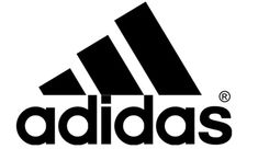 Adidas logo. The triangle with the racer stripes can be used in many different colors, as well as shapes.